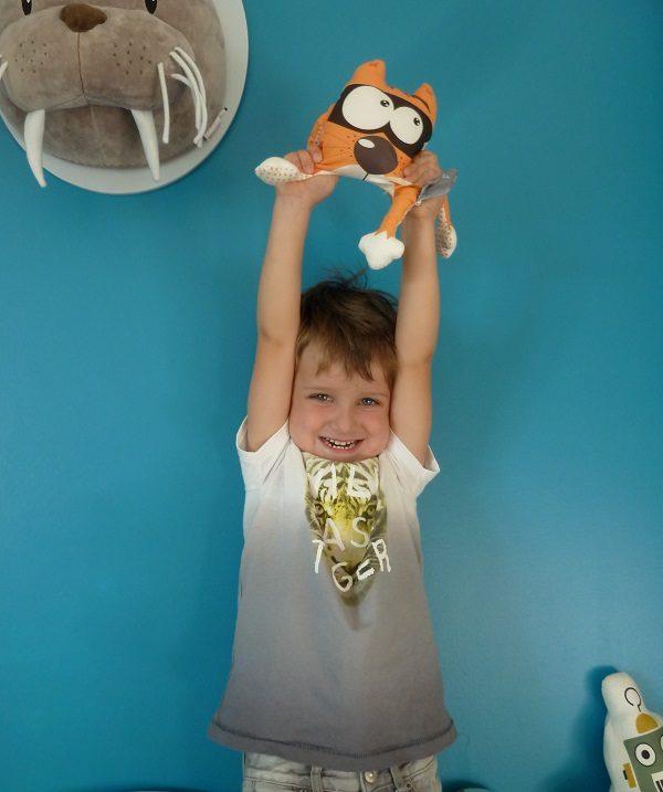 Doudou pour décorer la chambre de vos enfants